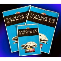 Kalendarz Motoryzacja PRL 2012 format A3