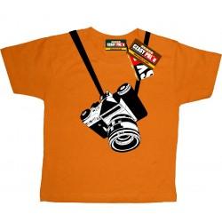 Aparat dla małego fotografa - koszulka dziecięca