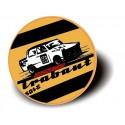 TRABANT RACING CAR - BUTTON Przypinka Ozdobna