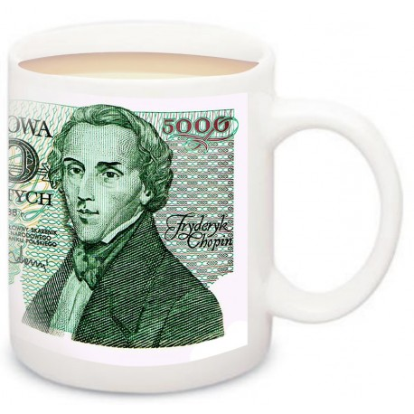 Banknot PRL 5000 zł F.Chopin