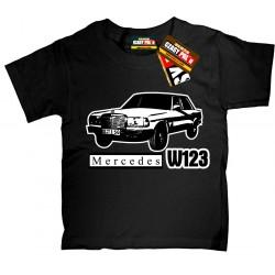 Mercedes W123 Auto dla dzieciaka